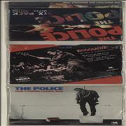 Click here for more info about 'The Police - Six Pack - Blue Vinyl + PVC Pack - EX'