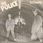 Click here for more info about 'The Police - So Lonely - P/S'