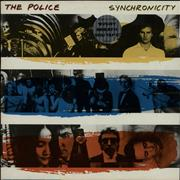 Click here for more info about 'The Police - Synchronicity - Stickered + Merch insert'