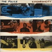 The Police Synchronicity - B/R/Y - USA USA vinyl LP