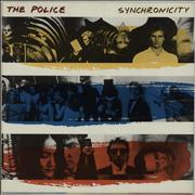 Click here for more info about 'The Police - Synchronicity - Promo Stamp'
