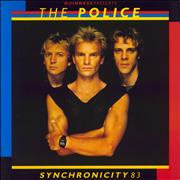 Click here for more info about 'The Police - Synchronicity 83 + Ticket stub'