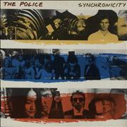 The Police Synchronicity UK vinyl LP