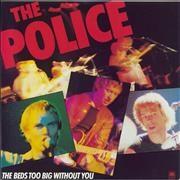 Click here for more info about 'The Police - The Bed's Too Big Without You - Blue'