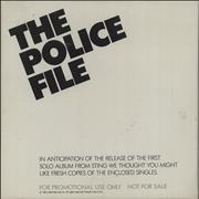 Click here for more info about 'The Police - The Police File'