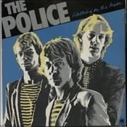 """The Police Walking On The Moon - 2nd - P/S UK 7"""" vinyl"""