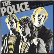 Click here for more info about 'The Police - Walking On The Moon - Blue vinyl'