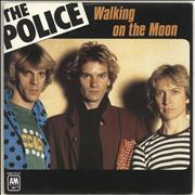 Click here for more info about 'The Police - Walking On The Moon - Paper label'