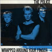 Click here for more info about 'The Police - Wrapped Around Your Finger - Blue Sleeve'