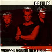 Click here for more info about 'The Police - Wrapped Around Your Finger - Red P/S'