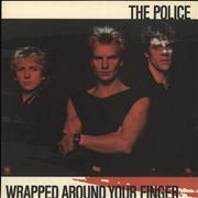 Click here for more info about 'The Police - Wrapped Around Your Finger - Red Picture Sleeve'