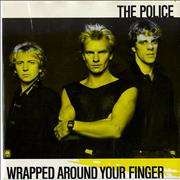 Click here for more info about 'The Police - Wrapped Around Your Finger - Yellow Sleeve'