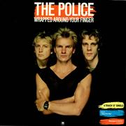 """The Police Wrapped Around Your Finger UK 12"""" vinyl"""