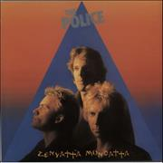 The Police Zenyatta Mondatta UK vinyl LP
