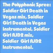 Click here for more info about 'The Polyphonic Spree - Soldier Girl Remixes'