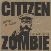 Click here for more info about 'The Pop Group - Citizen Zombie - Red Vinyl - Autograph'