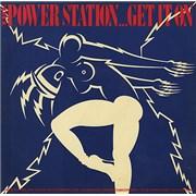 "The Power Station Get It On + PVC sleeve UK 12"" vinyl"