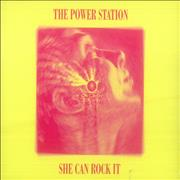 Click here for more info about 'The Power Station - She Can Rock It'