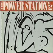 """The Power Station Some Like It Hot And The Heat Is On UK 12"""" vinyl"""