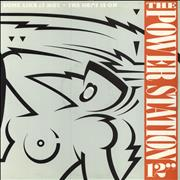 """The Power Station Some Like It Hot And The Heat Is On - Factory Sample UK 12"""" vinyl"""