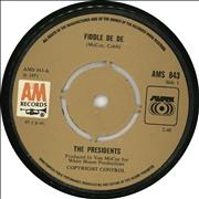 Click here for more info about 'The Presidents - Fiddle De De'