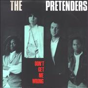 Click here for more info about 'The Pretenders - Don't Get Me Wrong'