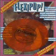 Click here for more info about 'The Pretenders - Flexipop! Magazine 6 + Orange Flexi'