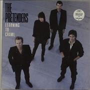 Click here for more info about 'The Pretenders - Learning To Crawl - stickered p/s'