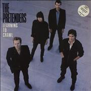 Click here for more info about 'The Pretenders - Learning To Crawl - Stickered sleeve'