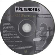 Click here for more info about 'The Pretenders - Sense Of Purpose'