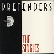 Click here for more info about 'The Pretenders - The Singles + Poster - Stickered'