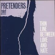 Click here for more info about 'The Pretenders - Thin Line Between Love & Hate'