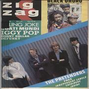 Click here for more info about 'The Pretenders - Zig Zag Magazine No. 116 - misprint'
