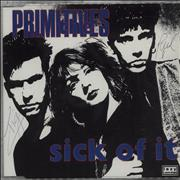 Click here for more info about 'The Primitives - Sick Of It - Autographed P/s'