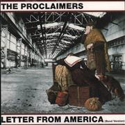 Click here for more info about 'The Proclaimers - Letter From America (Band Version)'