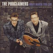 Click here for more info about 'The Proclaimers - What Makes You Cry - Parts 1 & 2'