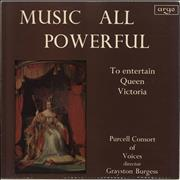 Click here for more info about 'The Purcell Consort Of Voices - Music All Powerful'