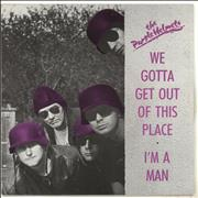 Click here for more info about 'The Purple Helmets - We Gotta Get Out Of This Place - Clear vinyl'
