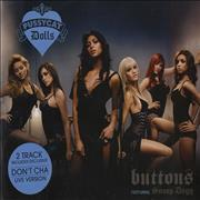 Click here for more info about 'The Pussycat Dolls - Buttons'