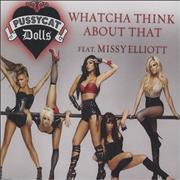 Click here for more info about 'The Pussycat Dolls - Whatcha Think About That'