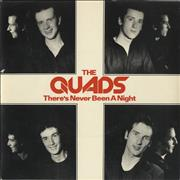 Click here for more info about 'The Quads - There's Never Been A Night'