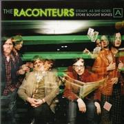 Click here for more info about 'The Raconteurs - Steady, As She Goes - 1st'