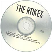 Click here for more info about 'The Rakes (Indie) - 22 Grand Job - Test Icicles Remix'