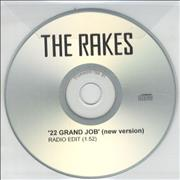 Click here for more info about 'The Rakes (Indie) - 22 Grand Job [New Version]'