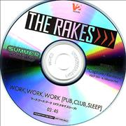 Click here for more info about 'The Rakes (Indie) - Work, Work, Work (Pub, Club, Sleep)'