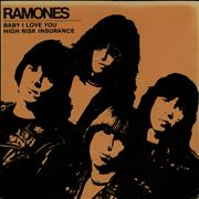 Click here for more info about 'The Ramones - Baby, I Love You - P/S - EX'
