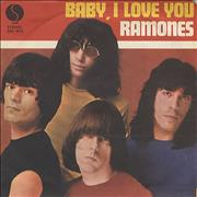 Click here for more info about 'The Ramones - Baby, I Love You'