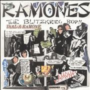 Click here for more info about 'The Ramones - Blitzkrieg Bop - Punk Art sleeve'