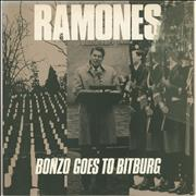 Click here for more info about 'The Ramones - Bonzo Goes To Bitburg - Misprint sleeve'
