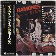 Click here for more info about 'The Ramones - It's Alive + obi'